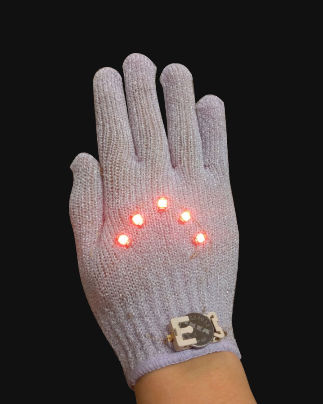 Image of biking gloves.